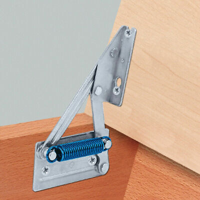 £24.99 • Buy Bench Seat Hinge With Spring 12Kg Lift Up 95° Pair Seat Tops, Lift Up Toy Box