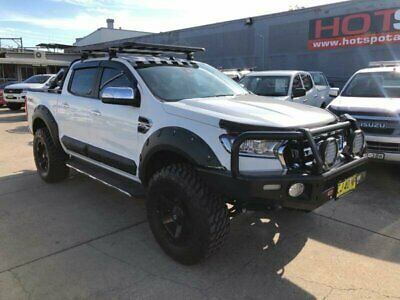 AU34950 • Buy 2016 Ford Ranger PX MkII XLT White Automatic A Utility