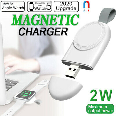$ CDN7.04 • Buy For IWatch Apple Watch Series 5/4/3/2/1 Magnetic Charging Pad Wireless Charger