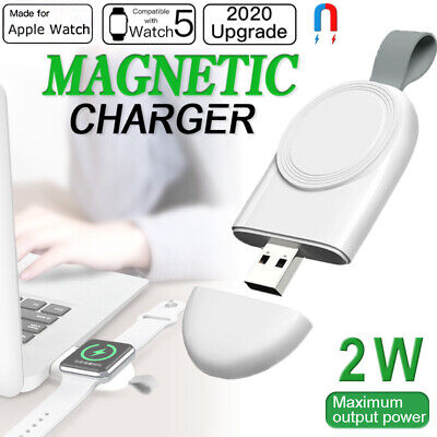 $ CDN6.58 • Buy For IWatch Apple Watch Series 5/4/3/2/1 Magnetic Charging Pad Wireless Charger