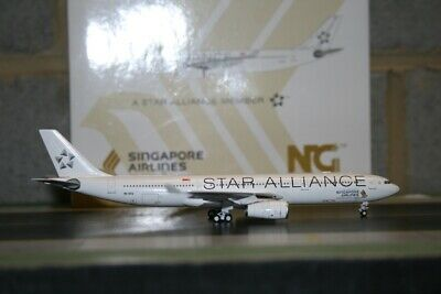 AU98 • Buy NG Model 1:400 Singapore Airlines Airbus A330-300 9V-STU  Star Alliance  (62003)