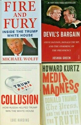 AU29.90 • Buy Fire And Fury - Inside The Trump White House / Russia / Bannon / Media  Vgc  Ts