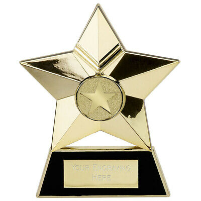 Personalised Engraved Star Metal Plaque Great Player Team Award • 9.99£