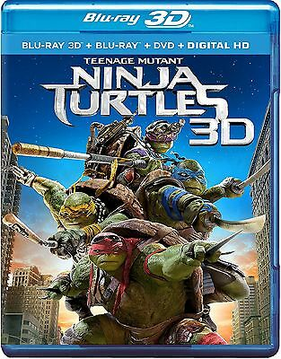 $ CDN22.95 • Buy Teenage Mutant Ninja Turtles (Blu-ray/DVD, 2014; 3D) *Includes Slipcover*