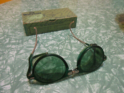 $69 • Buy Vintage Willson Safety Glasses Goggles NOS