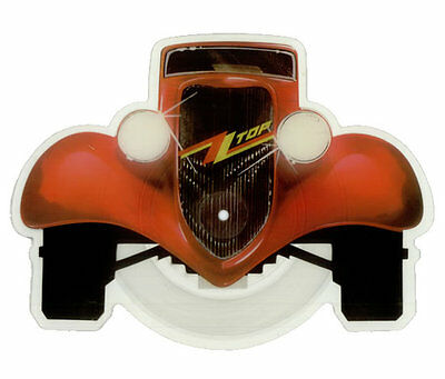 EX/EX ZZ TOP GIMME ALL YOUR LOVIN' Ltd Edition VINYL Shaped Picture Disc LOVING • 34.99£
