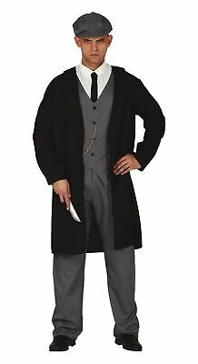 Mens 1920s English Peaky Gangster Shelby Fancy Dress Costume Adults Outfit (L) • 23.99£