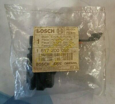 Bosch Spare Part 1617200058 On/Off Switch 110v SPIT 322 / 0611226872 • 14.99£