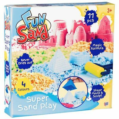 Kids Fun Sand Magic Formula Super Play Moulding & Shaping Toy Sand Extra • 6.59£