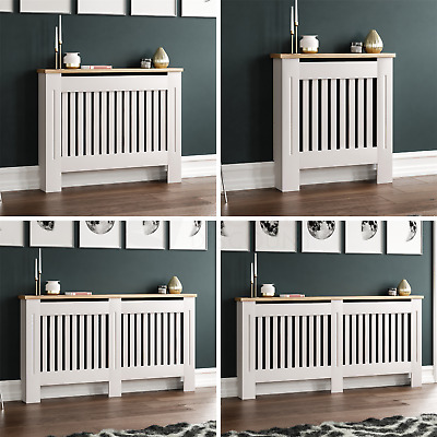 Arlington Radiator Cover White Modern Traditional Grill Cabinet Wood Furniture • 31.90£