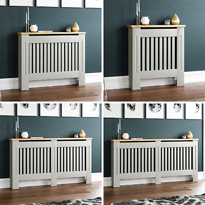 £31.85 • Buy Arlington Radiator Cover Grey Traditional Modern Cabinet Wood Grill Furniture