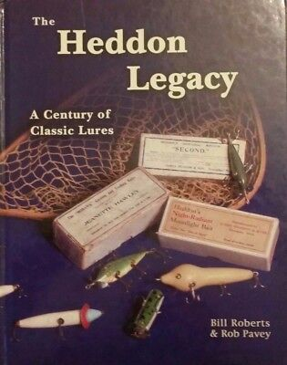 £107.85 • Buy The Heddon Legacy Classic Fishing Lure Value Guide Collector's Book