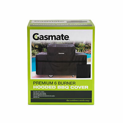 AU59.95 • Buy Gasmate 6 Burner Hooded Premium BBQ Cover Gasmate Barbeques/BBQ Accessories/BBQ