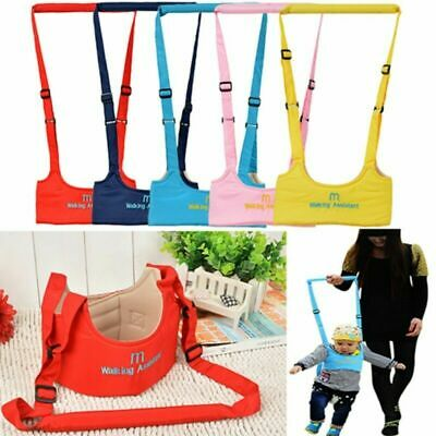 Baby Walker Harness Assistant Toddler Leash Kids Learning Walking Safety Belt UK • 5.99£