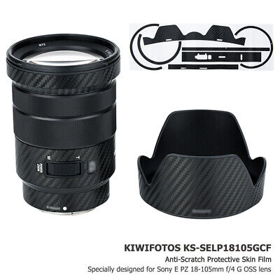 AU16.99 • Buy Anti-Scratch 3M Lens Skin Protector Film Cover For Sony E PZ 18-105mm F4 G OSS