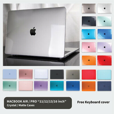 AU16.95 • Buy MacBook Hard Case + Keyboard Cover For Apple Air 11  13  12  Pro 13  16  Inch