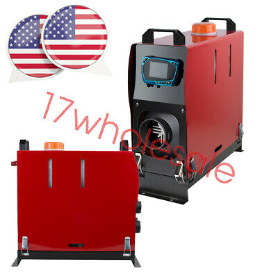 $114.59 • Buy 12V Air Diesel Heater With LCD Display 5KW Heater Power Preheat Engine Coolant