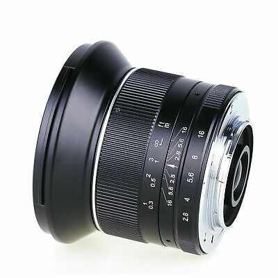 $ CDN203.68 • Buy Kaxinda 12mm F/2.8 APS-C Wide-angle Lens For Sony NEX Mount A6000 A6300 NEX5T A7