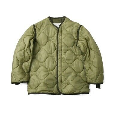 $26.99 • Buy Us Army Military M65 Field Jacket Coat Liner Quilted Insulated Od Green Large