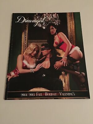 $37 • Buy REBEL ROMANCE Dreamgirl Lingerie Holiday 2014/2015 Fashion Catalog 92 Pages