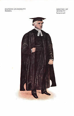 £6.75 • Buy R300468 Oxford University Robes. Doctor Of Divinity. Undress. George Davis. 1377