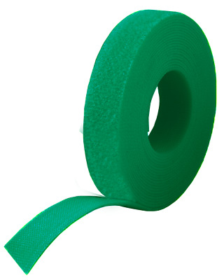 20mm Green VELCRO® Brand ONE WRAP Double Sided Strapping • 7.99£