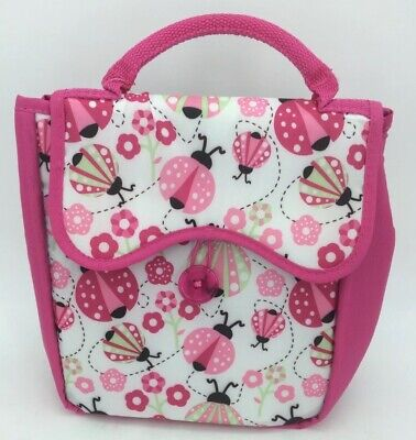 NWT Fit & Fresh Caitlin Chiller Insulated Lunch Tote/Bag Ladybug Frenzy. (AC) • 10.63£