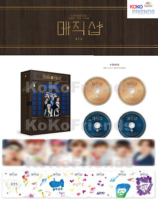 $74.96 • Buy BTS 5TH MUSTER Magic Shop DVD 4 Disc Photobook Photocard ETC Official + Tracking