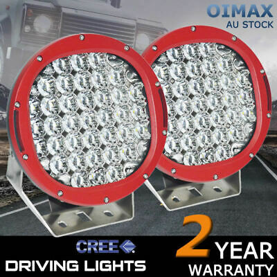 AU139.72 • Buy LED Spot Lights TRUCK Driving 99990W Cree Work HID 9 Inch ATV Light OFFROAD Car