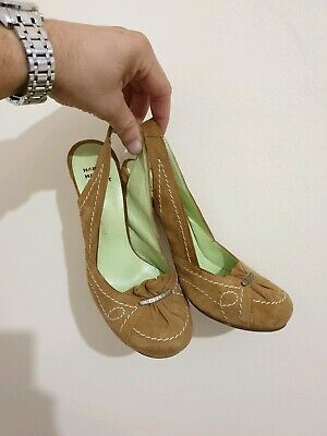 £18.90 • Buy Beautiful Womens Harlot Suede Leather Shoes/heels. Size 37/4 UK.Great Condition