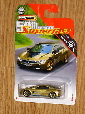 $4.24 • Buy MATCHBOX SUPERFAST 2019/ 2020 TARGET EXCLUSIVE BMW I8 GOLD CHASE MOC