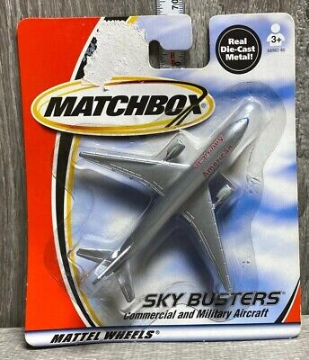$9.99 • Buy MATCHBOX 2000 SKY BUSTERS COMMERCIAL AND MILITARY AIRCRAFT American AIRLINES