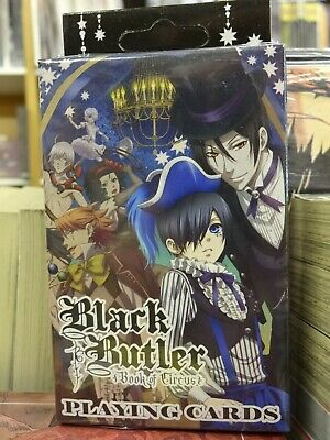 Black Butler Book Of Circus Official Manga & Anime Playing Cards 515691 • 6.99£
