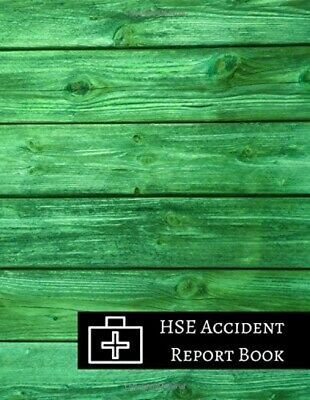 £8.69 • Buy HSE Accident Report Book