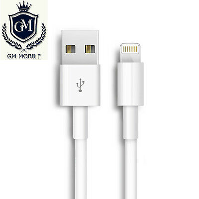 USB Charger Charging & Data Sync Cable Lead For Apple IPhone 7 8 X XR SE 6S 5S • 1.99£