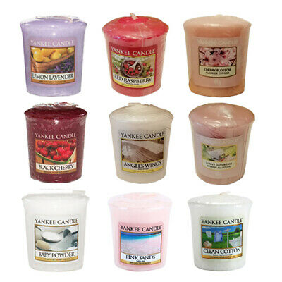 Yankee Candle Classic Sampler Votives 49g Home Various Scents - Buy 3 Get 3 Free • 4.99£