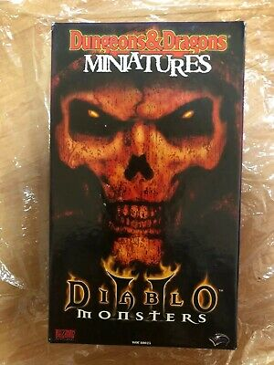 AU499 • Buy Rare Dungeons And Dragons Miniatures  Diablo 2 II Monsters 🇦🇺