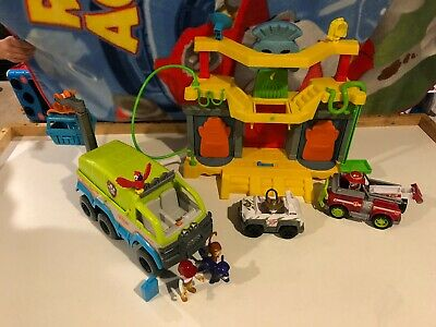 $60 • Buy Paw Patrol Jungle Lot With Tracker And Monkey Temple