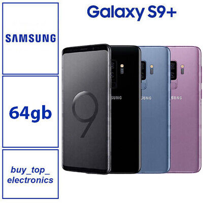 $ CDN519.41 • Buy NEW Samsung Galaxy S9 PLUS S9+ 64GB/256GB SM-G965F 12 Months Warranty AUS STOCK