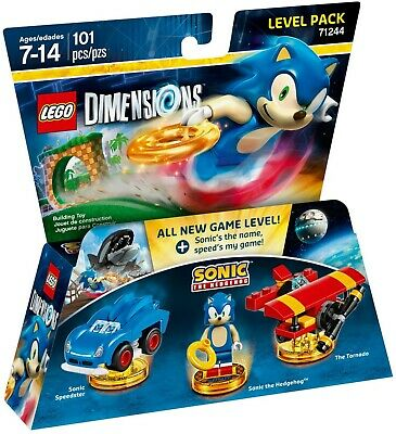AU119.99 • Buy LEGO Dimensions Sonic The Hedgehog Level Pack 71244 Brand New,Sealed & Free Post