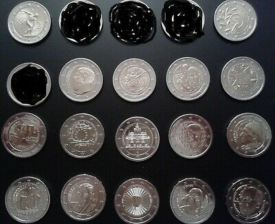 $ CDN105.44 • Buy Greece Lot 16X2 Euro Coins/UNC!!!