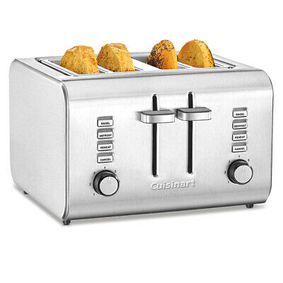 AU135 • Buy NEW Cuisinart Stainless Steel 4 Slice Toaster CPT-10A