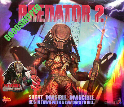 $ CDN739.96 • Buy Authentic Hot Toys Predator 2 Battle Damaged Wolf Mms45 1/6 14  Misb Special