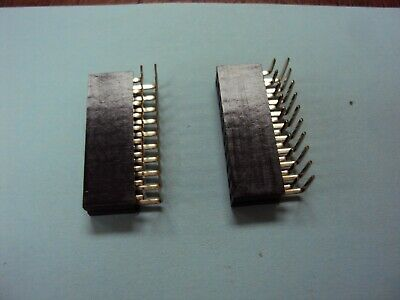 $3 • Buy  2x10Pin Header Right Angle Female Double Row Socket Connector 2.54mm Qty(2) Nos