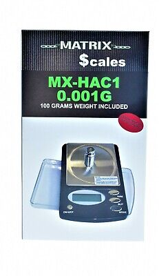 $16.99 • Buy Matrix Digital Pocket Jewelry Scale Mx-hac1- 0.001g !!free Shipping!!