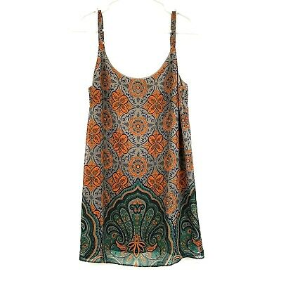 $19.97 • Buy Cabi Arabesque Floral Boho Style Cami Top Womens Blouse Shirt Size XS