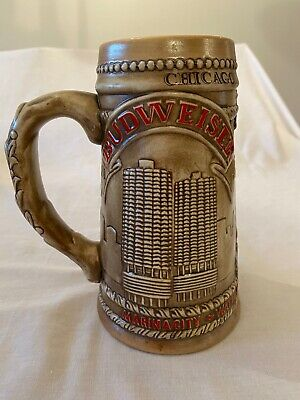 $ CDN19.99 • Buy Budweiser Stein 1981 Chicagoland, Limited Edition, Made In Brazil, No Chips