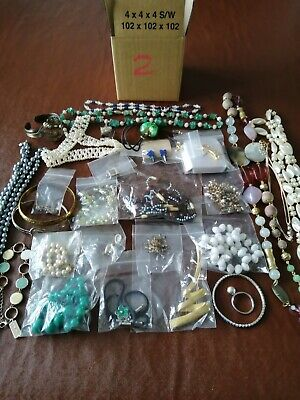 Job Lot Costume Jewellery Approx 500gm Mixed Items Number 2 • 5£