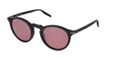 $200 • Buy Serengeti Raffaele Round Key Satin Black Polar Photo Sedona Sunglasses 8838 New