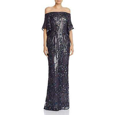 $59.99 • Buy Aidan Mattox Women's Embellished Off The Shoulder Gown Dress Size 6 MSRP $375